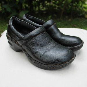 Børn, b.ø.c. Nadiyyah Clogs, 7, Slip on,  Leather